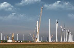 Prevención de riesgos laborales por tormentas eléctricas en parques eólicos