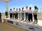 Inauguran un parque eólico de 30 MW