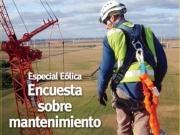 Especial Eólica: encuesta sobre mantenimiento