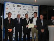 Los ingenieros navales premian la eólica flotante de Telwind