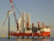 E.ON instala la primera turbina del parque eólico marino Amrumbank West