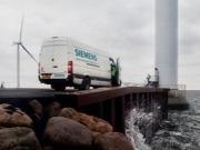 Siemens instala un prototipo de cuatro megavatios frente a las costas danesas