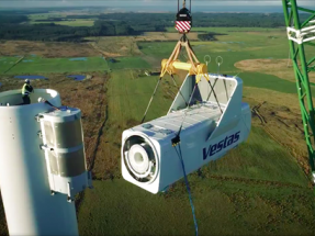 La danesa Vestas coloca 281 MW de sus turbinas eólicas V150-4.2 MW