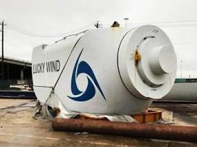 Se venden 12 aerogeneradores W2E de 2,05 MW de potencia en Texas, Estados Unidos
