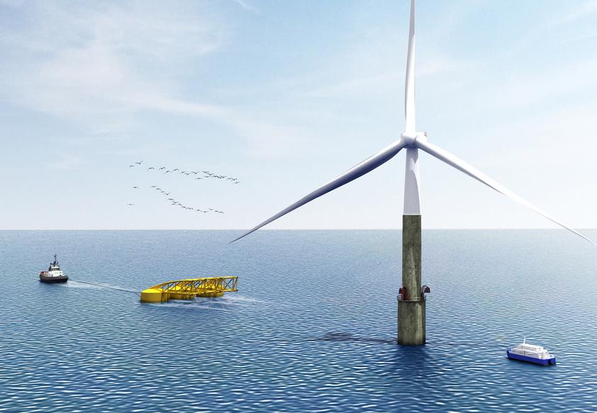 AEE propone utilizar Canarias como tractor para el despliegue de la eólica marina en España