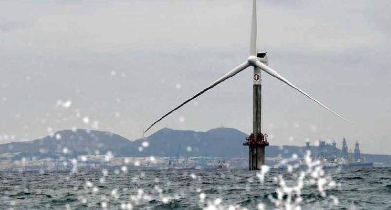 FLOTANT convierte a Canarias en referente mundial en la eólica marina flotante