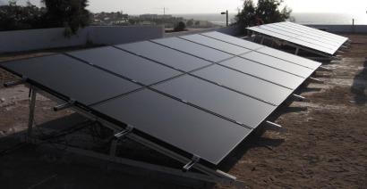 Krannich participa en la instalación de la primera planta FV de Antofagasta