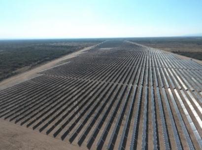San Luis: La planta fotovoltaica Caldenes del Oeste, de 30 MWp, inaugurada por Total Eren