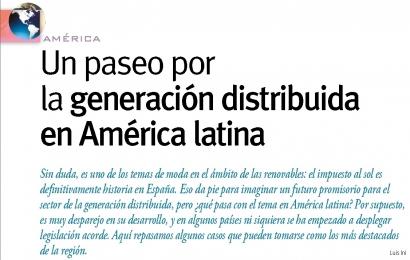 Un paseo por la generación distribuida en América latina
