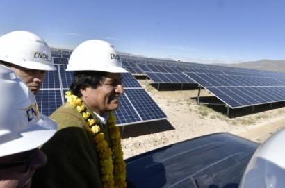 BOLIVIA: Inauguran una planta fotovoltaica de 5 MW