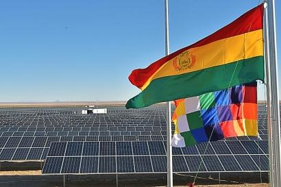 Inaugurada la planta fotovoltaica Uyuni, de 60 MW, la mayor del país