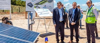 El aeropuerto de Salvador será el primero del país en abastecerse con energía fotovoltaica