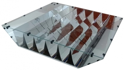 Presentan en la feria Intersolar un panel fotovoltaico que aseguran multiplica los rayos solares por 20