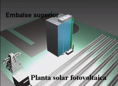 Un inventor canario se propone desarrollar centrales energéticas hidrosolares