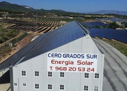 """Cero Grados Sur conecta """"el primer autoconsumo"""" de Murcia"""