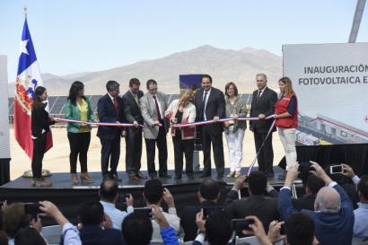 Inauguran el parque fotovoltaico El Pelícano, que abastecerá el Metro de Santiago