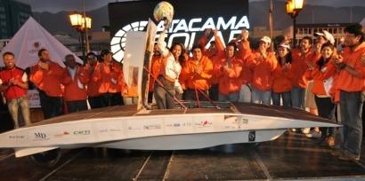 Concluye la primera carrera de vehículos solares