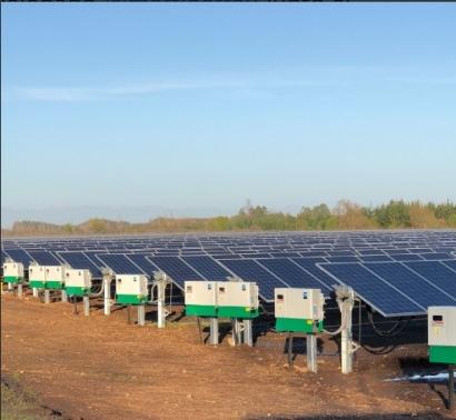 Biobío: Inauguran el parque fotovoltaico Las Palomas, el más austral del mundo