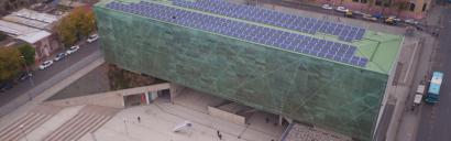 CHILE: Santiago: Instalan un sistema fotovoltaico en el Museo de la Memoria y los Derechos Humanos