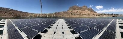 CHILE: En operaciones la primera planta flotante fotovoltaica del país, única en el mundo en su tipo