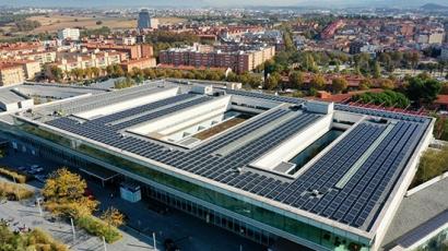 La instalación fotovoltaica del hospital de Mollet abastecerá un 12,5% de su demanda y se amortizará en 7 años