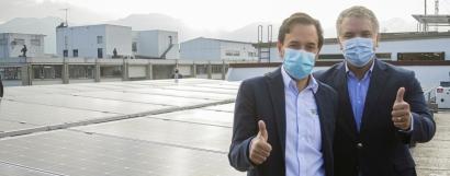 Inauguran un sistema fotovoltaico en las sedes del Ministerio de Minas y Energía