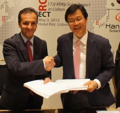 Una firma coreana contrata a Martifer para que instale 17,6 megavatios solares FV en Lisboa