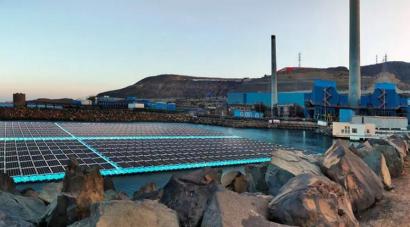 La desaladora Las Palmas III de Gran Canaria podría incorporar un sistema fotovoltaico flotante
