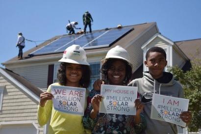 Más de un millón de hogares tienen instalado un sistema fotovoltaico en EEUU