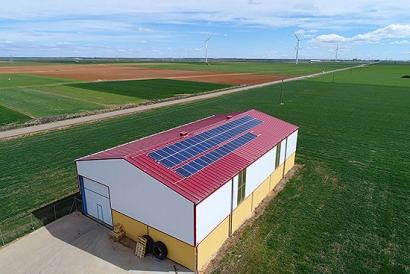 Las explotaciones agroganaderas de Castilla y León se suman al autoconsumo fotovoltaico