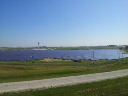 Indianápolis: El aeropuerto con el mayor sistema fotovoltaico del mundo