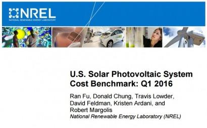 Sigue bajando el costo de los sistemas fotovoltaicos