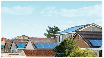 En EEUU venderán casas nuevas con sistemas fotovoltaicos ya instalados