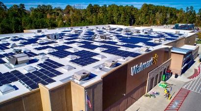 Walmart firma casi medio centenar de acuerdos para proveerse de energía fotovoltaica
