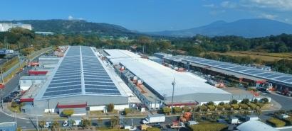 Inauguran una planta fotovoltaica de 5.1 MW, la más grande sobre techos de Centroamérica