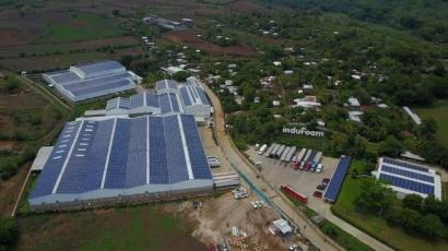 EL SALVADOR: Instalan la mayor instalación fotovoltaica sobre cubierta del país