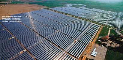 El mercado fotovoltaico europeo está encogiendo