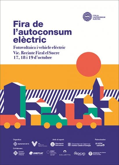 El autoconsumo y el coche eléctrico se dan cita en la Feria del Autoconsumo de Vic
