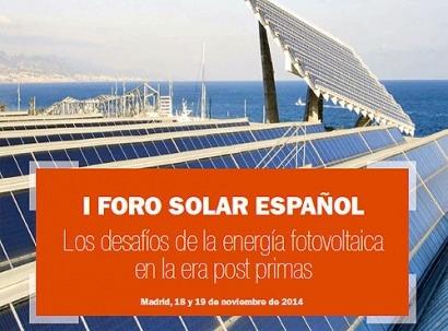 El inspirador del peaje de respaldo participará en la mesa de autoconsumo del I Foro Solar Español