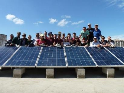 Fotovoltaica primera instalaci n fv conectada a la red for Instalacion fotovoltaica conectada a red