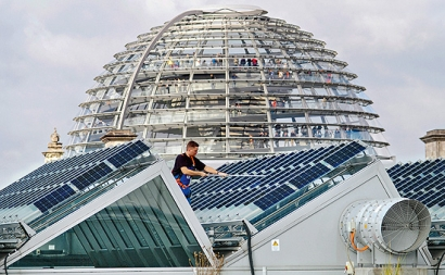 La exposición itinerante 'La Transición energética en Alemania' llega a Bilbao