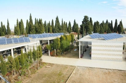 Los cementerios también pueden ser fotovoltaicos
