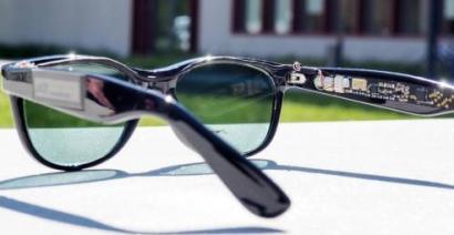 Y ahora … gafas con energía solar