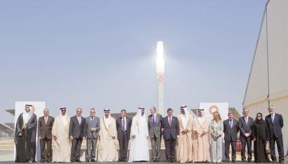 Real inauguración de Gema (joya) solar