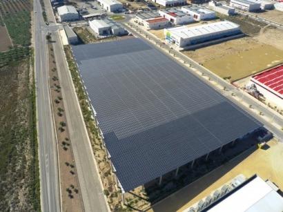 17.000 m2 de sombra para captar el sol