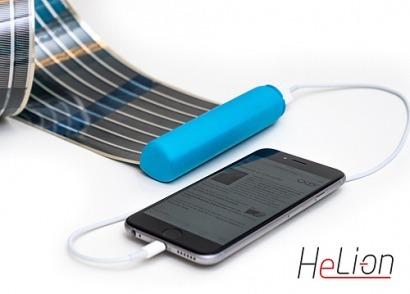 HeLi-on, el cargador solar más compacto del mundo