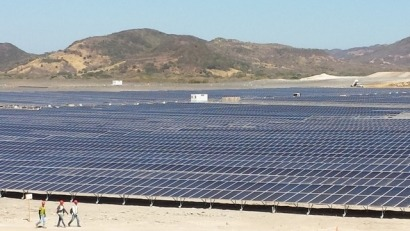 Inauguran un complejo fotovoltaico de 146,4MW