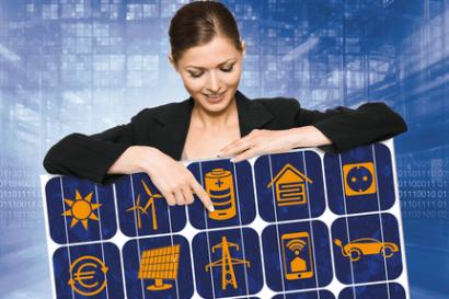La electricidad solar es tendencia