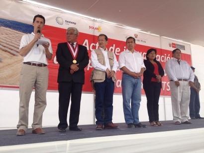 Perú añade 40 megavatios a su parque fotovoltaico nacional