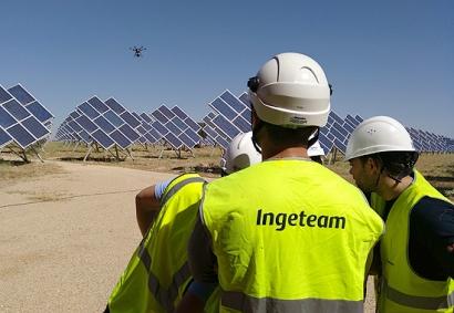 Ingeteam utiliza drones para mejorar el rendimiento de las plantas fotovoltaicas